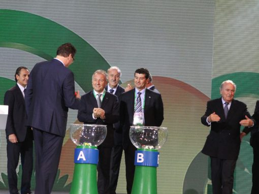 OFFICIAL DRAW FOR THE FIFA CONFEDERATIONS CUP BRAZIL 2013™